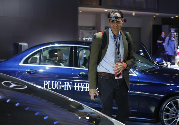 Behind the scenes at the Detroit Auto Show