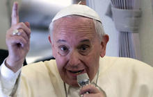 """What Pope Francis meant by his """"rabbits"""" comment"""