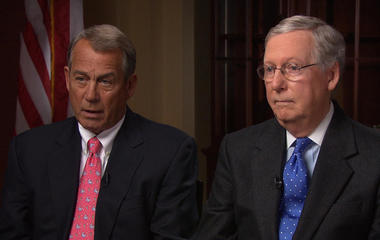 Republican leaders address Obamacare