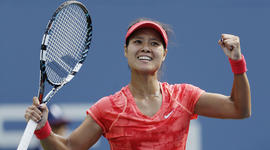 Li Na's victory