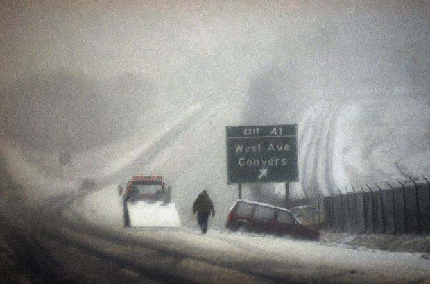 1993 Historic U S Blizzards Pictures Cbs News