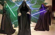 Star Wars costumes on display