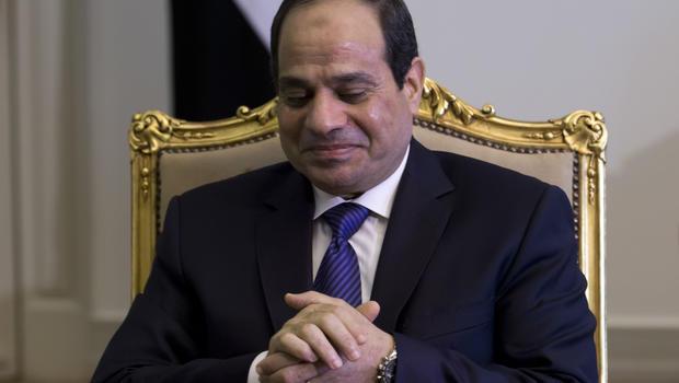 President of Egypt 2014 Egypt President in Damage