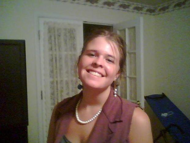 Kayla Mueller in undated photo provided by  Mueller family