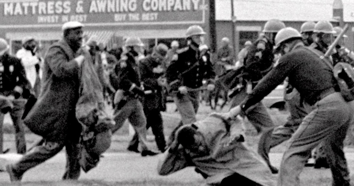 Remembering The Battle At Selma Cbs News