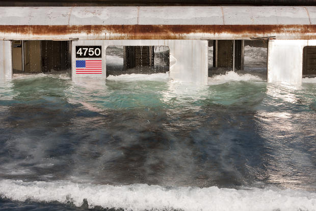 Watery grave for NYC subway cars