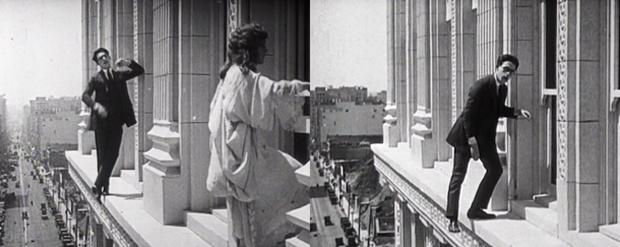 The thrilling Harold Lloyd