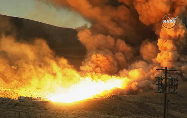 Watch NASA's most powerful rocket booster ever built