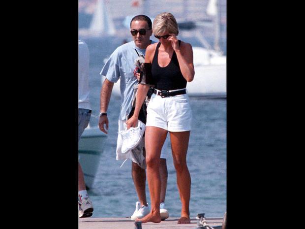 Diana And Dodi Fayed Princess Diana A Photo Album