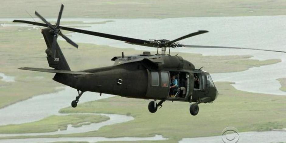 Military Choppers in Military Chopper Crash