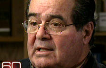 Justice Scalia on 60 Minutes, part 1