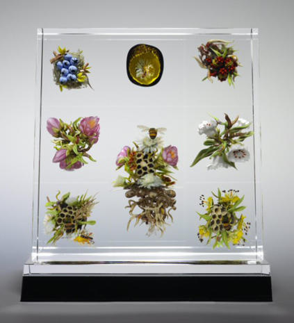 Art frozen in glass: Exquisite paperweights