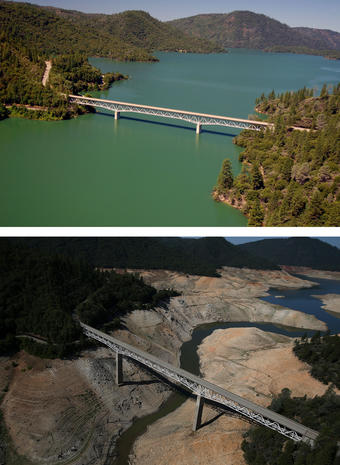 Surprising consequences of the California drought