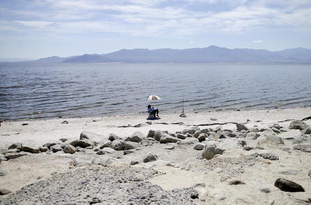 Shrinking Salton Sea