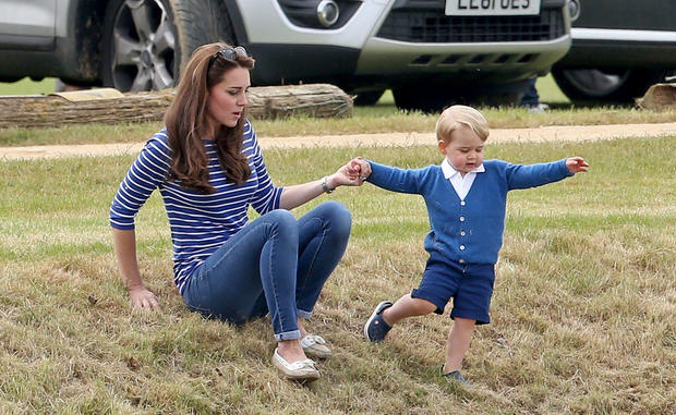 Prince George turns three