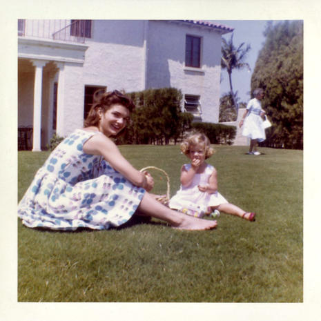 Kennedy family photos, maternity dress auctioned