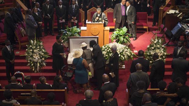 Funeral For Ethel Lance Charleston Shooting Victim Draws