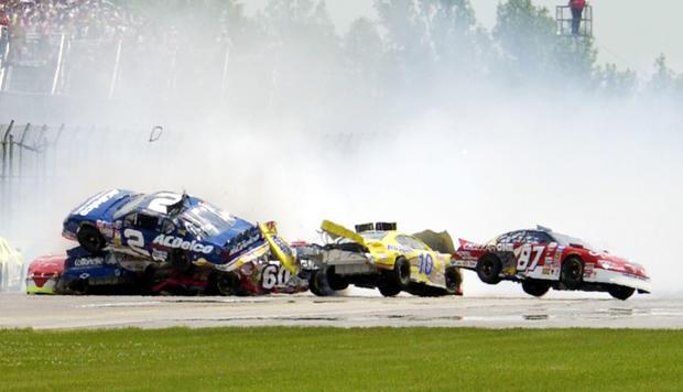 Ap on Nascar Crashes