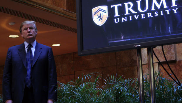 Court documents reveal what Trump actually said about his university