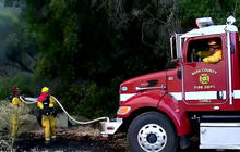 Drought fueling wildfires on West Coast
