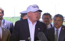 Trump visits Texas border after provocative immigration comments