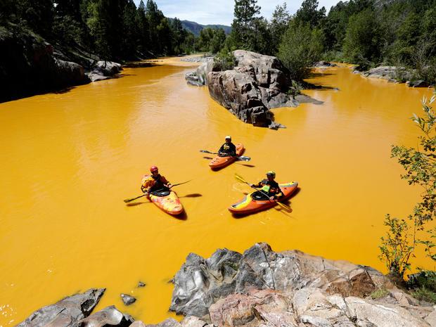 Animas River Colorado spill