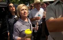 Hillary Clinton, Donald Trump hit the Iowa State Fair