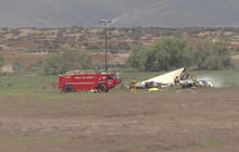 Four dead after small planes collide in San Diego