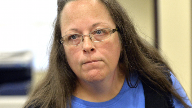 Court: Gay couple's suit against Kentucky clerk can proceed