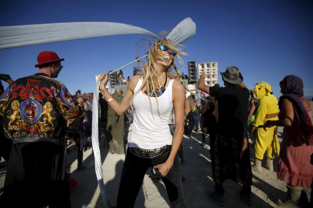 Burning Man Festival  Burning Man  Pictures  CBS News