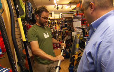 What does it take to maneuver a kayak?