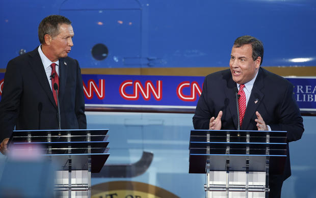 GOP debate - Republican presidential candidates spar in ...