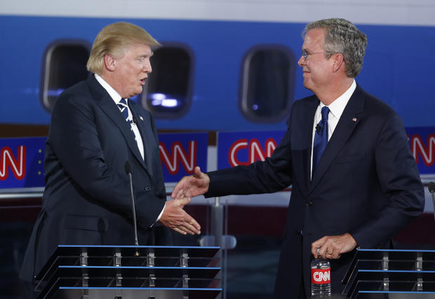 debate - Republican presidential candidates spar in second GOP debate ...