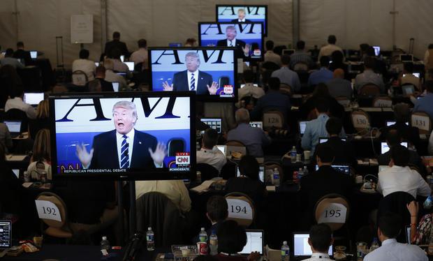 debate - Republican presidential candidates spar in second GOP debate ...