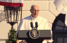 Pope Francis talks freedom, climate change and Cuba in first U.S. address