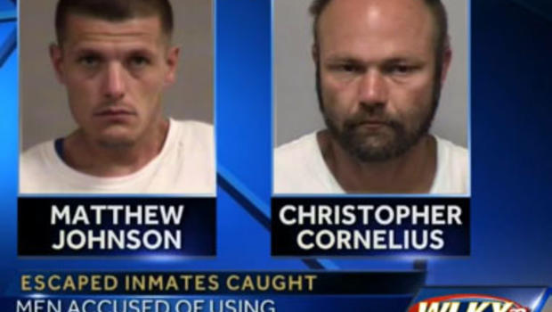 Kentucky inmates caught after using bed sheets to escape ...