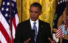 """""""We are not going to completely eliminate terrorism,"""" Obama says"""