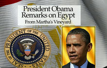 "President Obama ""strongly condemns"" violence in Egypt"