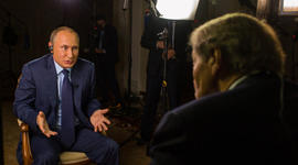 Putin talks gay rights on 60 Minutes