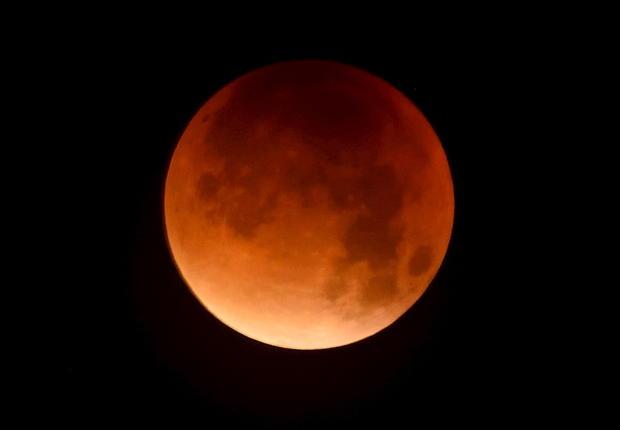blood moon rare eclipse - photo #8