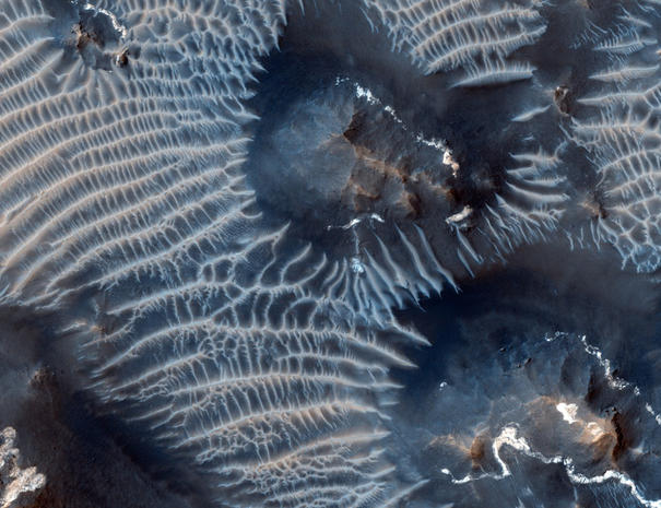 Gorgeous abstract Martian landscapes