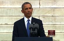 Watch: Obama's speech on 50th anniversary of March on Washington