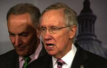 Reid pushes House to approve bill with Obamacare funding