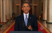 Obama makes case for Syria strike, but says diplomacy deserves more time