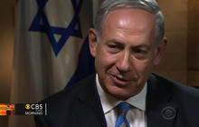 Netanyahu talks Israeli settlements and peace with Palestinians