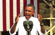 Obama mocks GOP's shutdown demands