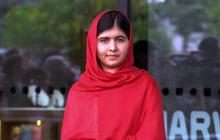 Malala opens Europe's largest library