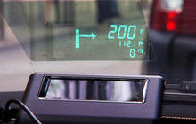 Head-up displays aim to keep drivers safe