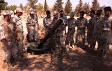 Syrian rebels battling Assad and growing number of extremists