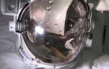 Watch: NASA recreates space suit water leak